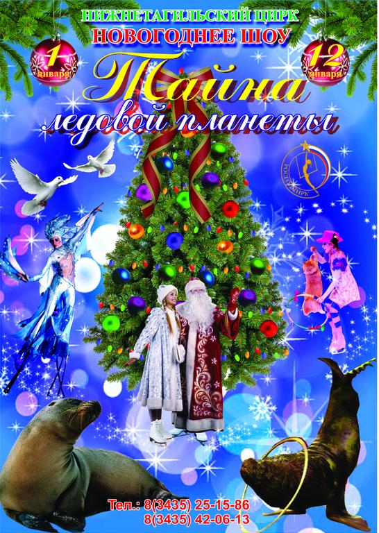 Новогоднее шоу на льду ТАЙНА ЛЕДОВОЙ ПЛАНЕТЫ!