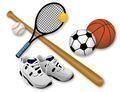 Спортивные товары - продажа в розницу