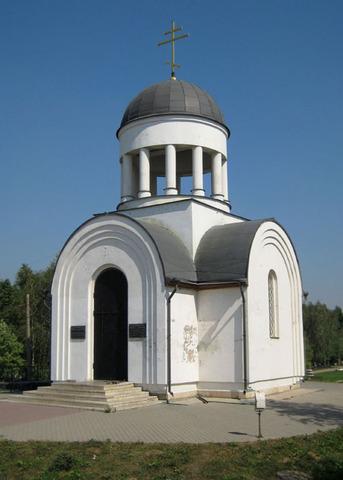 Церковь-часовня Воскресения Христова на Волковском кладбище