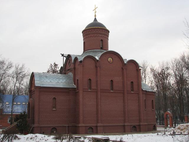 Церковь Пантелеимона Целителя при ЦРБ в Мытищах