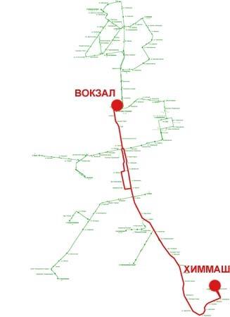 Троллейбусный маршрут № 1 «