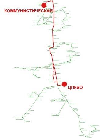 Троллейбусный маршрут № 5 «
