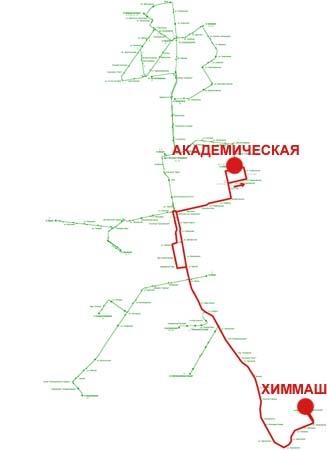 Троллейбусный маршрут № 6 «