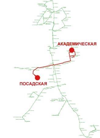 Троллейбусный маршрут № 7 «