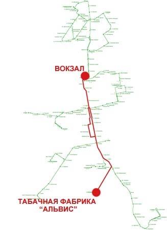 Троллейбусный маршрут № 9 «